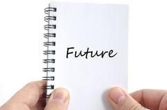 Przyszłościowy teksta pojęcie Obraz Royalty Free