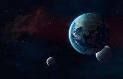 Przyszłościowy wszechświat zdjęcia royalty free