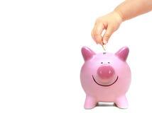 przyszły oszczędności Zdjęcie Stock