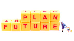 przyszłościowy planowanie Fotografia Royalty Free