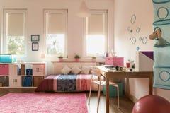 Przytulny pokój dla nastolatka Zdjęcia Royalty Free