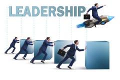 Przywódctwo pojęcie z różnorodnymi ludzie biznesu obrazy stock