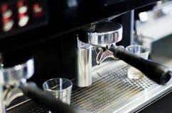 Przywódca grupy kawy maszyna Zdjęcie Stock