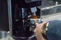 Przywódca grupy kawy maszyna Obrazy Stock