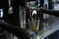 Przywódca grupy kawy maszyna Fotografia Stock