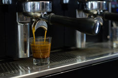 Przywódca grupy kawy maszyna Obraz Royalty Free