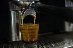 Przywódca grupy kawy maszyna Zdjęcie Royalty Free