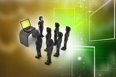 Przywódctwo i drużyna Obrazy Stock