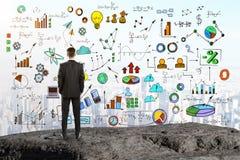 Przywódctwo i planu pojęcie Obrazy Stock