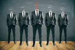 Przywódctwo i pracy zespołowej pojęcie royalty ilustracja