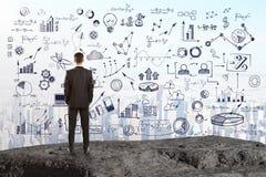 Przywódctwo i sukcesu pojęcie Obraz Stock