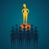 Przywódctwo pojęcie royalty ilustracja
