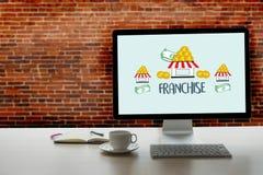 PRZYWILEJU marketing Oznakuje handel detalicznego C i Biznesową pracy misję Obraz Stock