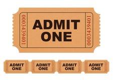 przyznaj bilet zdjęcie royalty free