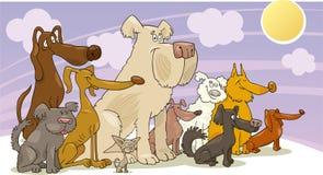 psów target309_1_ royalty ilustracja