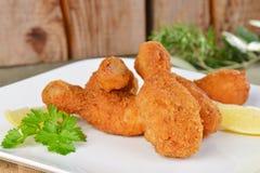 Pés de frango frito Fotos de Stock