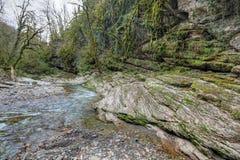 Psakho flod Fotografering för Bildbyråer