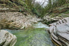 Psakho-Fluss Stockbild