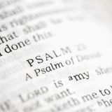 Psalm 23. Royalty Free Stock Images