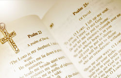 Psalm 23 - Władyka Mój Bacą Jest Zdjęcie Stock