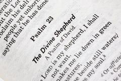 Psalms 23 Stock Photography