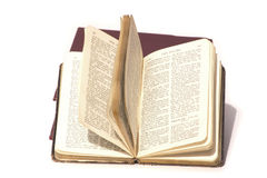 Psalms in the bible. Bible open at the psalms pages Royalty Free Stock Photos