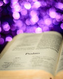 Psalms page Stock Photography