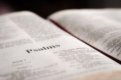 Psalms page Stock Photo