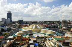 Psar thmei central market in phnom penh cambodia Royalty Free Stock Photos