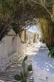 Psarou beach, Mykonos, Greece Royalty Free Stock Photography