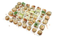 PSC du pavé 48 de sushi Photos libres de droits