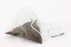 påse isolerad tea Royaltyfria Bilder