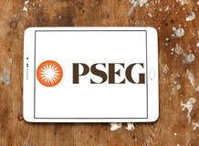 PSEG offentlig serviceföretagsgrupplogoen royaltyfri bild