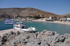 Pserimos island Royalty Free Stock Photos