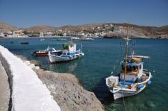 Pserimos island bay Stock Image