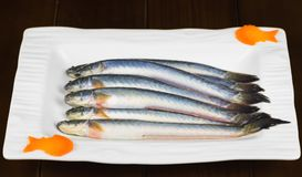 Pseudapocryptes elongatus fish, food for eating hot pot, the famous food in Mekong delta, Vietnam.  Stock Image