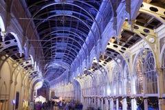 Pseudo-Baroque City Colonnade Royalty Free Stock Image