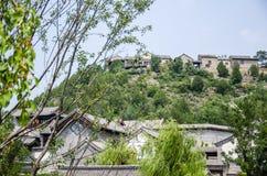 Pseudo-klassische Architektur in der Gubei-Wasserstadt lizenzfreies stockbild