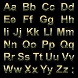 Pseudo letras 3d del alfabeto Fotografía de archivo libre de regalías