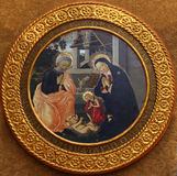 Pseudo-Pier Francesco Fiorentino: Die Geburt von Jesus lizenzfreie stockfotos