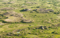 Pseudocraters Stock Photo