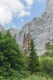 Pshekh vattenfall Arkivfoton