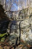 Pshekh vattenfall royaltyfri bild