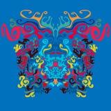 Pshyhedelic-Hintergrund Lizenzfreies Stockbild