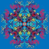 Pshyhedelic-Hintergrund Stockbild