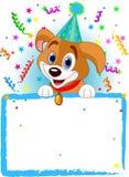 Psi dziecko Urodziny royalty ilustracja