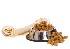 psi jedzenie Obrazy Stock