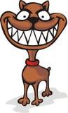 psi ono uśmiecha się szeroko Obraz Stock