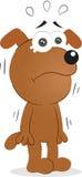 Psi płacz Zdjęcie Stock