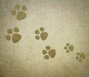 Psi papierowy tło Obraz Royalty Free